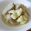 豚モモとカリフラワーの3+1 Herbes マスタード煮