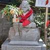 金札宮の恵比須天像とえびす瓦。