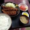西川口の「あおき食堂」でチキンカツ定食を食べました★