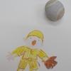 「奇跡の石の物語」10  第1章「石の絵本」p.8  ボール石