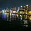 夜の松江、散策