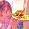 桃乃木かな がハンバーガー…