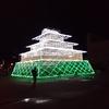 藍場浜公園に光の徳島城出現! 阿波おどり未来へつなぐプロジェクト