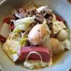 焼き豆腐と赤こんにゃくの肉豆腐