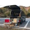 キャンプ54 '21.3/26-27 -プチキャンカー初出動!エブリィでソロ車中泊キャンプ @古法華自然公園キャンプ場-