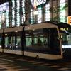 変わりゆく北海道の鉄路を記録する旅 2日目④ 夜の札幌市電