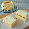 """バターケーキ食べ比べ(""""⌒∇⌒"""")   スポンジ生地とジョコンド生地♪"""
