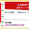 【ハピタス】三菱地所グループCARDが期間限定5,600pt(5,600円)! 初年度年会費無料!