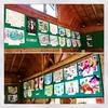 近隣小学校の絵の展示