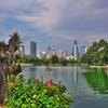 バンコク「ルンピニ公園」~都会のど真ん中のオアシスだが、こんな野生の生物も普通にいる!!
