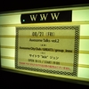 Awesome City Club  「Awesome Talks -vol.2-」 @渋谷WWW