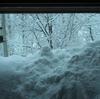 雪のふりつむ土曜日の朝