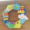コロナで暇だから折り紙で子供の日のリースを作ってみた