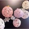 ころころ可愛いストリングボールを作ってみました(手作りクリスマスオーナメント)
