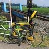 五行川サイクリングロード~線路と自転車と恵比寿様~