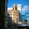 ミニチュア風写真『銀座四丁目交差点と中央通りの風景』