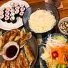 餃子とお寿司とソーメン!と河童橋道具祭り