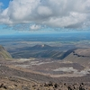 「サウス クレーター(South Crater) 迄の登りを上がるとそこには。。。~「トンガリロ アルパイン クロッシング(Tongariro Alpine Crossing)」