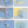 【台風8号・9号・10号の進路・11号の卵】トリプル台風が襲来!台風10号『クローサー』は10日には『非常に強い』勢力まで発達して関東の南まで北上!お盆に関東地方を直撃の可能性は!?台風11号の卵も!