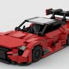 【LEGO自作】テールが綺麗!!レクサスLCのレーシング仕様の動画