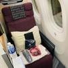 【搭乗記】JAL 成田-シアトル ビジネスクラス(座席、機内食)