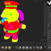 犬のおまわりさんの3Dモデルを作ろう!(substance painter編)10