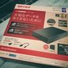 BUFFALO  HD-LE4U3-BA 外付けHDD 購入レビュー