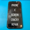 iPhoneXも画面割れ修理可能!(背面の割れは修理不可です) 水没端末の復活もお任せ下さい!