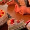 バースデーケーキ つぶグミ どっさりパック パンケーキ たまごアレルギー