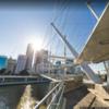 オーストラリアのブリスベンにあるクリルパ橋はテンセグリティの橋
