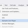 iOS シミュレーター で XAML をプレビューする