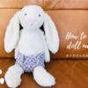 お人形さんのおむつの作り方