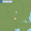 午前5時11分頃に茨城県南部で地震が起きた。