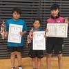 【試合結果】宮城県中学生新人卓球大会 兼JOC全日本選手権