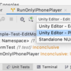 JetBrains Rider 2019.3でUnityのPlay Mode testsを実行する