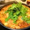 【1食148円】パクチー豚キムチ鍋の自炊レシピ