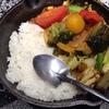 食べてみた - キャンプの「一日分の野菜カレー」