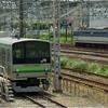 貨物列車、東海道旅客線迂回運転(横浜線205系とEF65)