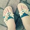 サンダル靴擦れ防止方法。サンダル用靴下試してみました→リピ買い決定!