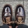 はじめて1円で靴磨きをしてもらいました