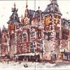 旅のスケッチ (オランダ・ベルギー) [7, 8日目 (最終日)]