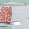 「パターン講座」ボリューム袖のフラワーシャツブラウス。