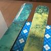 スキーのトップシートの破損!防水対処しました!
