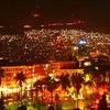シリアの首都、ダマスカスの夜景