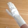 100円ショップで、ようやく見つけた!白いゴム手袋
