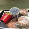 マクドナルドでハンバーガーを5年ぶりぐらいに食事をした巻