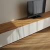 """DIYでIKEAの""""BESTA""""を使った『壁掛けTVボード』を作りました【まとめ】"""