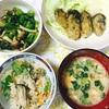 お正月休み中に自宅で料理したごはん、取り分け幼児食。