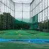 雨ゴルフ練習