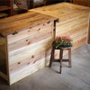 パン屋さんリノベーション作戦!古材の一枚板とホームセンターの木材でオシャレカウンター什器をDIY!